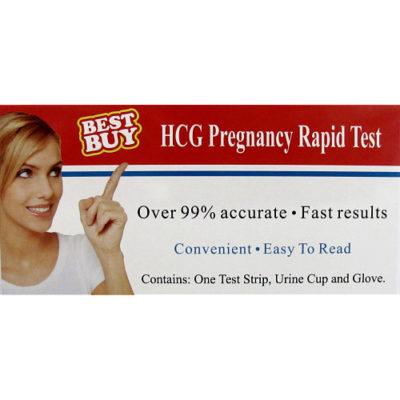 hcg pregnancy rapid test