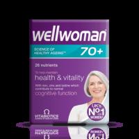 vitabiotics wellwoman 70 +