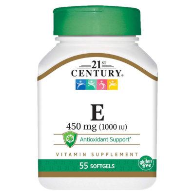 Vitamin E 450iu 55s Gels