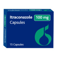 Itraconazole 100mg Capsules, 15's
