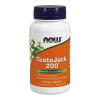 NOW TestoJack 200, Capsules