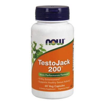 NOW TestoJack 200, Capsules